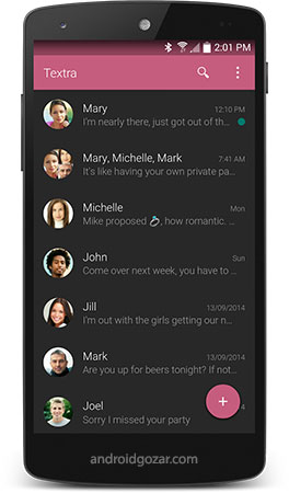 Textra SMS PRO 4.17 دانلود برنامه اس ام اس اندروید