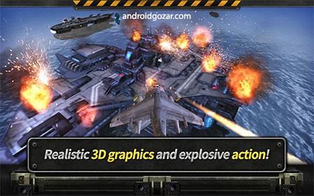 GUNSHIP BATTLE: Helicopter 3D 2.6.80 دانلود بازی نبرد هلیکوپتر جنگی اندروید + مود + دیتا