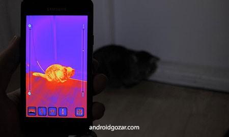دانلود Thermal Camera Ad-Free 1.0.6 دوربین حرارتی اندروید
