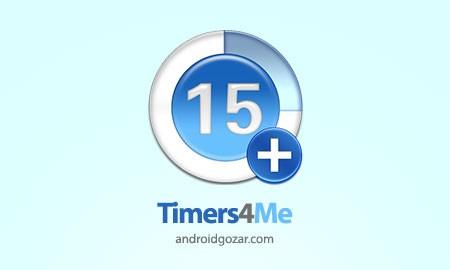 Timers4Me Timer&Stopwatch Pro 5.11.2 دانلود نرم افزار تایمر و زمان سنج