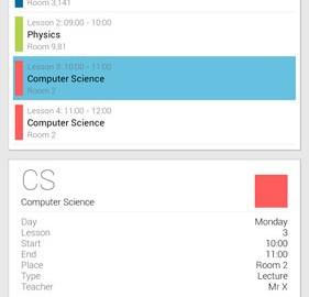 Timetable 1.7.6 دانلود نرم افزار مدیریت برنامه های درسی و دانشگاهی