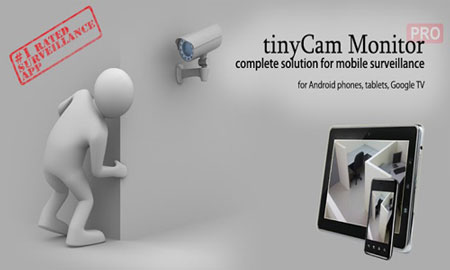 دانلود tinyCam PRO 15.0.7 برنامه کنترل دوربین مدار بسته اندروید