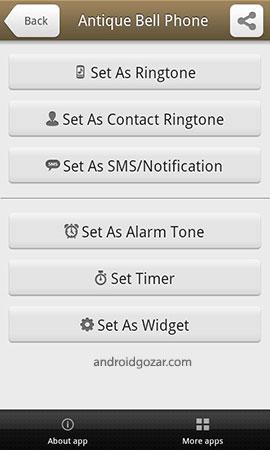 Old Telephone Ringtones Pro 1.0.2 دانلود آهنگ های زنگ تلفن قدیمی