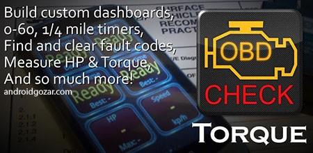 Torque Pro (OBD 2 & Car) 1.8.199 دانلود نرم افزار عیب یابی خودرو