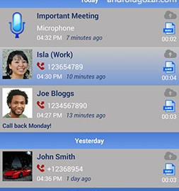 Call Recorder | Total Recall FULL 2.0.74 ضبط تماس دو طرفه اندروید