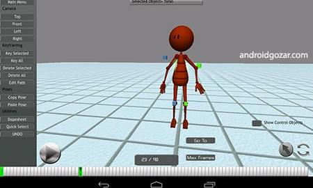 TouchAnimator 2.1 دانلود نرم افزار انیمیشن سازی اندروید