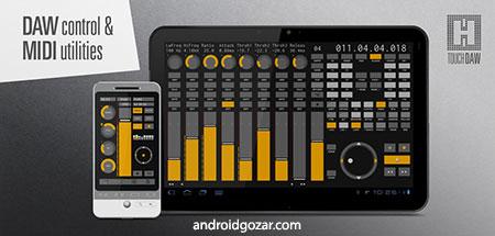 دانلود TouchDAW 2.0.6 برنامه کنترل DAW و MIDI اندروید