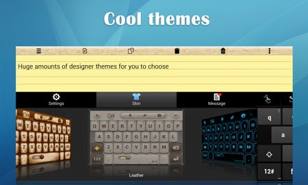 TouchPal Keyboard for Tablet 1.7.0 دانلود صفحه کلید سریع تبلت