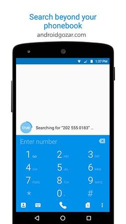 Truedialer – Dialer & Contacts 3.65 دانلود شماره گیر و مدیریت مخاطبین