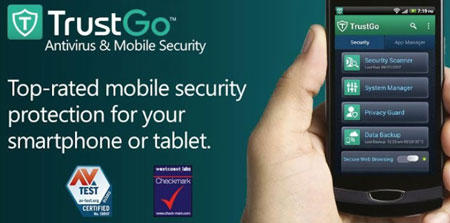 TrustGo Antivirus & Mobile Security 2.12.0 نرم افزار آنتی ویروس و امنیتی