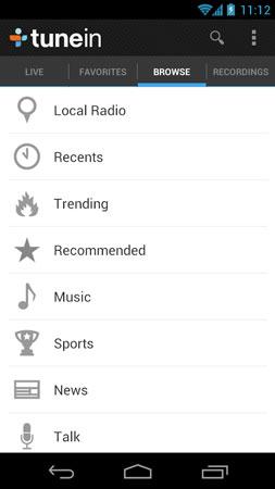 دانلود TuneIn Radio Pro 26.7 – برنامه رادیو جهانی اندروید