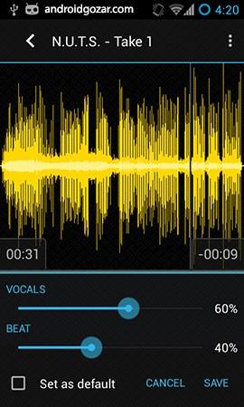 Tune Me PRO 2.2.13 دانلود نرم افزار ضبط صدا با افکت صوتی