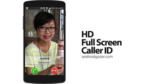 HD Full Screen Caller ID Pro 3.4.3 نمایش تمام صفحه تصویر تماس گیرنده