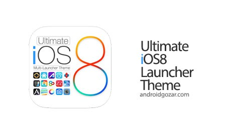 Ultimate iOS8 Launcher Theme 1.4 دانلود تم لانچر iOS8