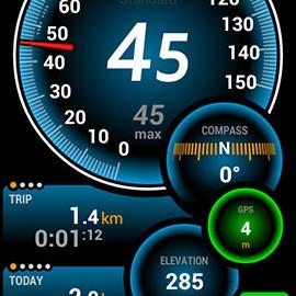 دانلود Ulysse Speedometer Pro 1.9.88 – سرعت سنج پیشرفته اندروید
