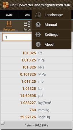 دانلود Unit Converter Pro 2.5.1 نرم افزار تبدیل واحد اندروید