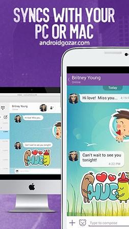 دانلود Viber Messenger 11.9.1.1 – برنامه پیام رسان وایبر اندروید