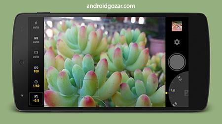 Manual Camera 3.7.1 دانلود نرم افزار دوربین دستی اندروید