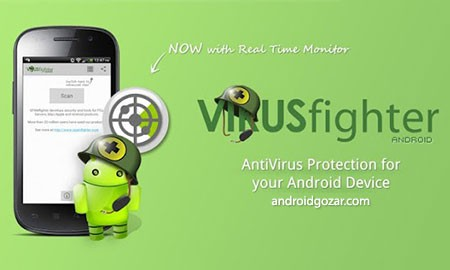 VIRUSfighter Antivirus PRO 2.1.3 دانلود آنتی ویروس جنگنده