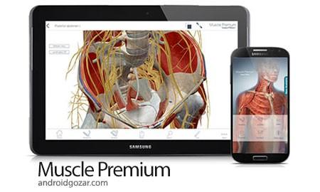 Muscle Premium 6.1.31 دانلود نرم افزار آناتومی عضلات + دیتا