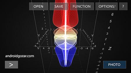VisualGraph 3D 2.7 دانلود نرم افزار ایجاد نمودارهای 3D