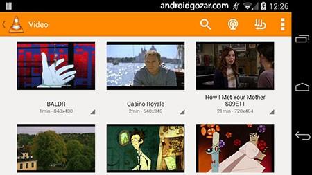 دانلود VLC for Android 3.3.0 وی ال سی پلیر برای اندروید