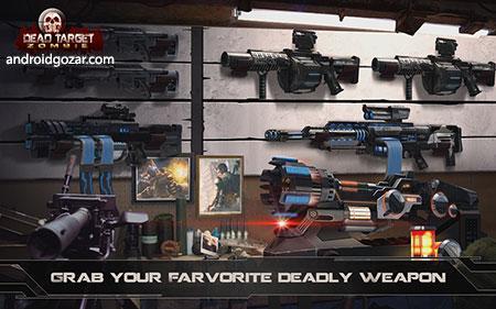 دانلود DEAD TARGET: Zombie Offline 4.58.1 بازی زامبی کشی اندروید + مود