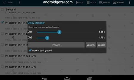 Voice PRO 4.0.29 دانلود نرم افزار ضبط و ویرایشگر صوتی اندروید