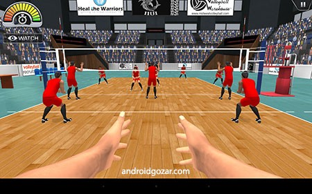 دانلود VolleySim 1.11 بازی موبایل آموزش والیبال اندروید