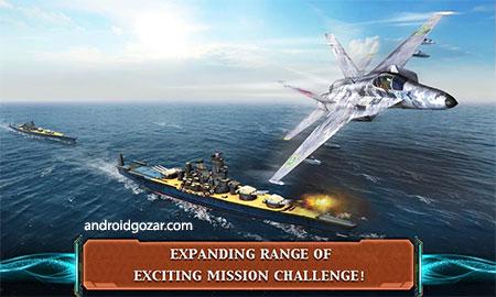 Modern Air Combat: Team Match 2.5.0 دانلود بازی مبارزه هوایی مدرن+دیتا