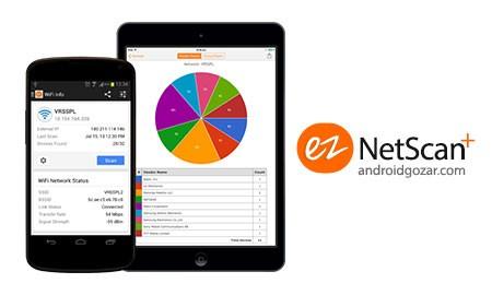 ezNetScan+ 1.5 دانلود نرم افزار ابزار های شبکه