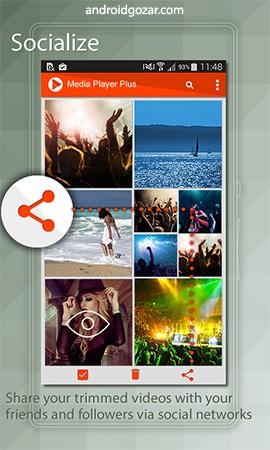 Media Player Plus Pro 3.1.3 دانلود نرم افزار پخش و اصلاح فیلم