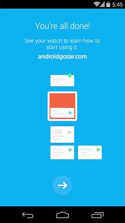 Android Wear 2.6.0.176378847 دانلود نرم افزار اندروید پوشیدنی ساعت هوشمند