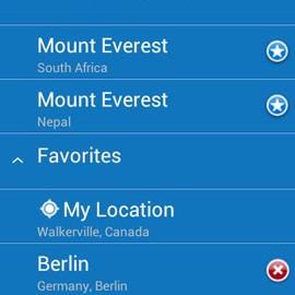 WeatherPro Premium 5.3 دانلود برنامه پیش بینی وضعیت آب و هوا اندروید