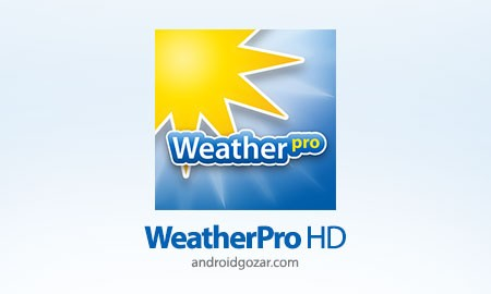 WeatherPro HD for Tablet Premium 3.3.1 پیش بینی آب و هوا