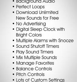 White Noise Pro 7.4.3 دانلود نرم افزار معجزه خواب اندروید