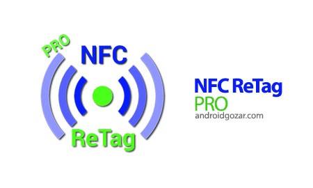 NFC ReTag PRO 2.18.1 PRO استفاده از برچسب NFC در اندروید
