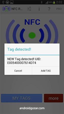 NFC ReTag PRO 2.21.10 دانلود برنامه استفاده از برچسب NFC در اندروید