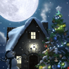 Christmas Moon 1.0.8 دانلود تصویر زمینه زنده زمستان زیبا