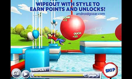 Wipeout 1.4 دانلود بازی عبور از موانع + مود