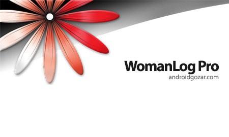دانلود WomanLog Pro Calendar 5.8.36 برنامه تقویم قاعدگی و باروری زنان