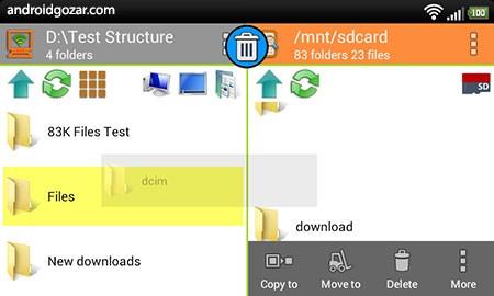 WiFi PC File Explorer Pro 1.5.26 کنترل کامپیوتر و فایل ها از راه دور