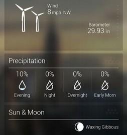 Yahoo Weather 1.6.2 دانلود نرم افزار آب و هوا یاهو