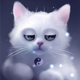 Yang The Cat 2.1.2 دانلود تصویر زمینه زنده گربه سفید