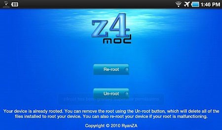 z4root 1.3.0 Download Android Routing Software