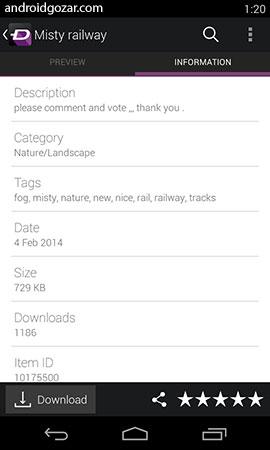 دانلود برنامه ZEDGE Premium 7.5.2 نسخه جدید برای اندروید
