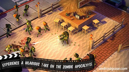 Zombiewood – Zombies in L.A! 1.5.3 دانلود بازی زامبی ها در لس آنجلس+مود