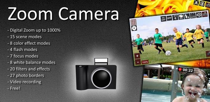 Zoom Camera Pro 7.2 دانلود نرم افزار عکاسی و فیلمبرداری حرفه ای