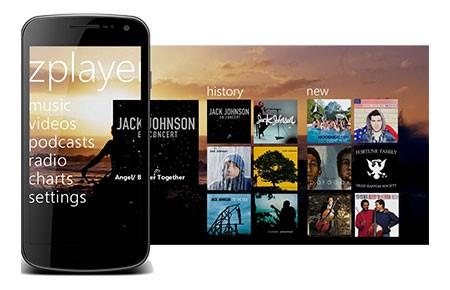 ZPlayer 7.1.2 دانلود نرم افزار پخش کننده موزیک و ویدئو در اندروید